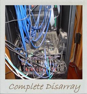Hall of shame - Electronic equipment in disarray!.